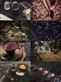 "apeppermintwind: ""  HP Aesthetics: Sybill Trelawney ""Many witches and wizards are yet unable to penetrate the veiled mysteries of the future. It is a Gift granted to few."" """