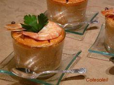 Flan Bisque de homard