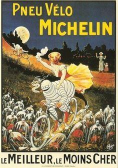 Pneu Vèlo Michelin ~ O'Galop (Marius Rossilon) #Cycling #Michelin #Tires