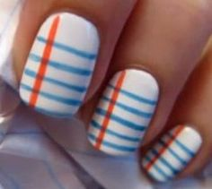 Back to school nails! #nails