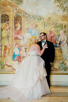 Kate Spade Inspired Ballroom Wedding I milou + olin photography