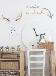 130 Best Let S Craft Decor Clocks Images Diy Clock Picture Clock