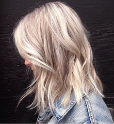 balayage light blonde bob - Google Search
