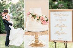 Elegant White and Gold Wedding {Audrey Rose Photography}