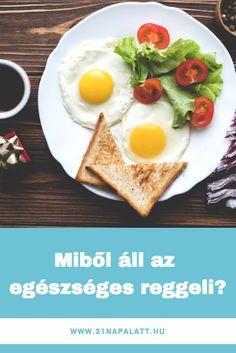 Mitől lesz egészséges a reggeli? Elárulom! Low Carb Appetizers, Yummy Appetizers, Appetizer Recipes, Diet Recipes, Healthy Recipes, Finger Foods, Food And Drink, Lose Weight, Keto