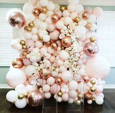 Balloon Decorations, Birthday Party Decorations, Wedding Decorations, Balloon Arrangements, 30th Party, Picture Backdrops, Wall Backdrops, Bridal Shower Balloons, Wedding Balloons
