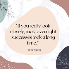 Overnight success doesn't happen... it comes on the heels of long nights, hard work, and sacrifice! #hardwork #lifelessons Motivational Messages, Motivational Thoughts, Positive Mindset, Positive Vibes, Hard Days, Steve Jobs, Life Motivation, You Really, Self Development