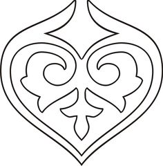 казахский орнамент, орнаменты, мотивы, узоры, картинки, шаблоны, макеты, шаблоны казахский орнамент