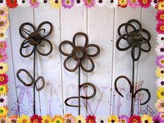 Three Horseshoe Flowers