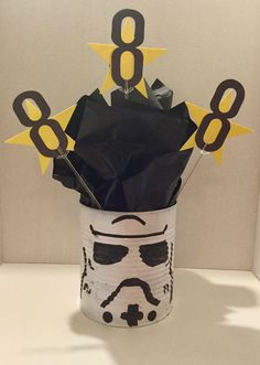 Star Wars party centerpiece