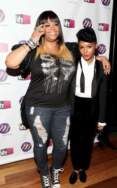 Jill Scott and Janelle.