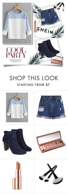 """cool partyyy"" by amanda-791 ❤ liked on Polyvore featuring Monsoon, Urban Decay and Estée Lauder"