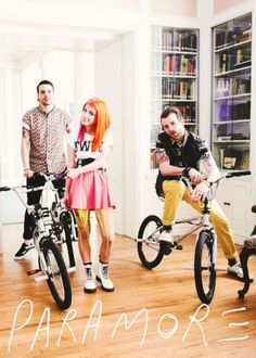Paramore-Still Into you set. Fun video wish i could do that!