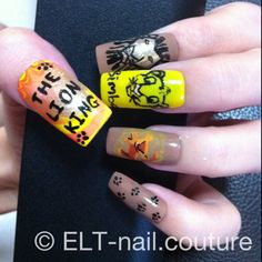 I am doing these on my nails