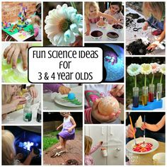 Fun 3-4 year old science activities