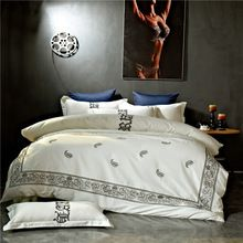 Papa&Mima bohemia style egyptian cotton fabric king queen size Embroidery Technics Bedlinens Quilt Cover Bedding Set   Tag a friend who would love this!   FREE Shipping Worldwide   Get it here ---> http://bohogipsy.store/products/papamima-bohemia-style-egyptian-cotton-fabric-king-queen-size-embroidery-technics-bedlinens-quilt-cover-bedding-set/