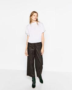 HIGH NECK TOP from Zara
