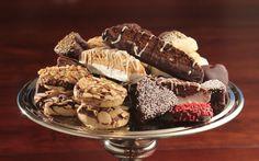 Dark & White Chocolate Decorated Cookies