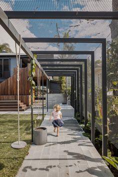 Outdoor Pergola, Backyard Patio, Backyard Landscaping, Pergola Designs, Patio Design, Landscape Architecture, Landscape Design, Shade Structure, Outdoor Gardens