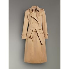The Long Chelsea Heritage Trench Coat in Honey - Women | Burberry Canada