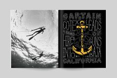 Transworld Surf Features by Wedge & Lever, via Behance