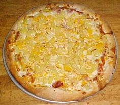 Pineapple Pizza is delicious.  No ham, no bacon, just pineapple, provolone, and mozzarella. Mmmmm