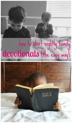 Our boys enjoyed family daily devotional time so much, we made it our New Years resolution - and thanks to this simple routine, it actually stuck!