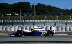 Ayrton Senna. Paul Ricard, 1994.
