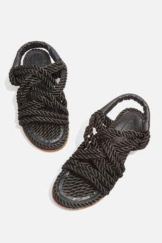 Fiesta Rope Flat Sandals