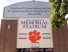 WHO ELSE LOVES OUR NEW SIGN! 🏈 #gotigers #allin Clemson Football, New Sign, Memories, Memoirs, Souvenirs, Remember This