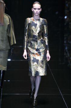 Gucci-El vestido que nos conquistó, y que inspira una de las colecciones de Hélène para la próxima temporada.