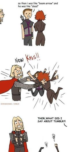 Shipping at its best.  Avengers