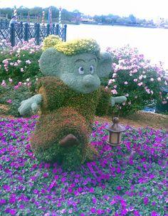 Epcot's Flower & Garden Show 2012 at Walt Disney World Resort Snow White and the 7 Dwarfs