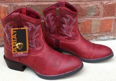 Red Ariat Cowgirl Boots.