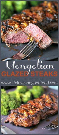 Mongolian Glazed Steaks   Life, Love, and Good Food