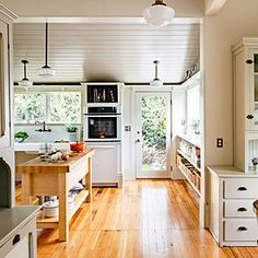 How a resourceful Portland designer reawakened her Victorian kitchen by combining the best of old and new. | Photo: Lincoln Barbour | thisoldhouse.com