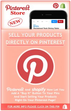 *NEW* Sell Your Products On Pinterest, Start Your Business On Pinterest. Please Share With The Whole Pinterest Community!!!