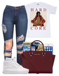 """""""Queen Bee"""" by bryannilove ❤ liked on Polyvore featuring Jack Spade, Nixon, MICHAEL Michael Kors and Vans"""