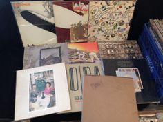 Led Zeppelin - Vinyl Record Complete Studio Vinyl Record Collection +booklets ++