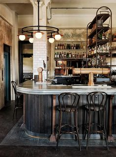 Ground Bar (Hotel Palisade, Millers Point, Australia) The Society Inc