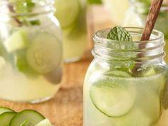 Esta bebida te hará perder peso y tallas. Lo único que necesitas es pepino, jengibre y limón.