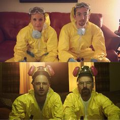 35 couples costume ideas for you and your favorite person halloween coupleshalloween costume ideashalloween partybreaking bad - Halloween Costume Breaking Bad