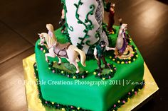 Tangled Cake Base Disney
