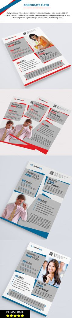 Corporate Flyer by Mehrographix on Creative Market