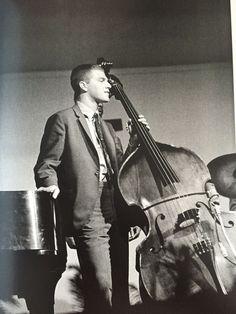 Scott LaFaro Newport Jazz Festival (1961) by Jim Marshall