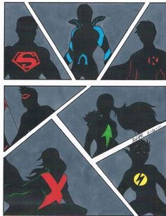 Young justice the team