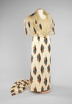 Ensemble or baro't saya (image 1 - Front) | Philippine | first quarter 20th century | cotton, pineapple cloth, silk, metal | Brooklyn Museum Costume Collection at The Metropolitan Museum of Art | Accession Number: 2009.300.3224a–c
