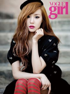 Girls' Generation's Tiffany poses in Los Angeles for Vogue Girl #allkpop #SNSD