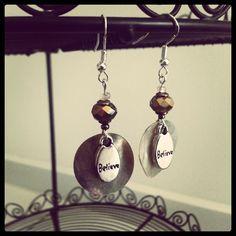 Believe Earrings by julietfieldew