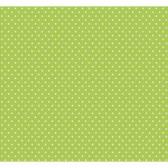 Panduro fabric, Lime dots